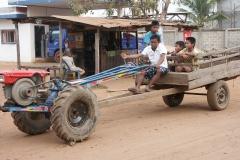 Trajet Laos Cambodge